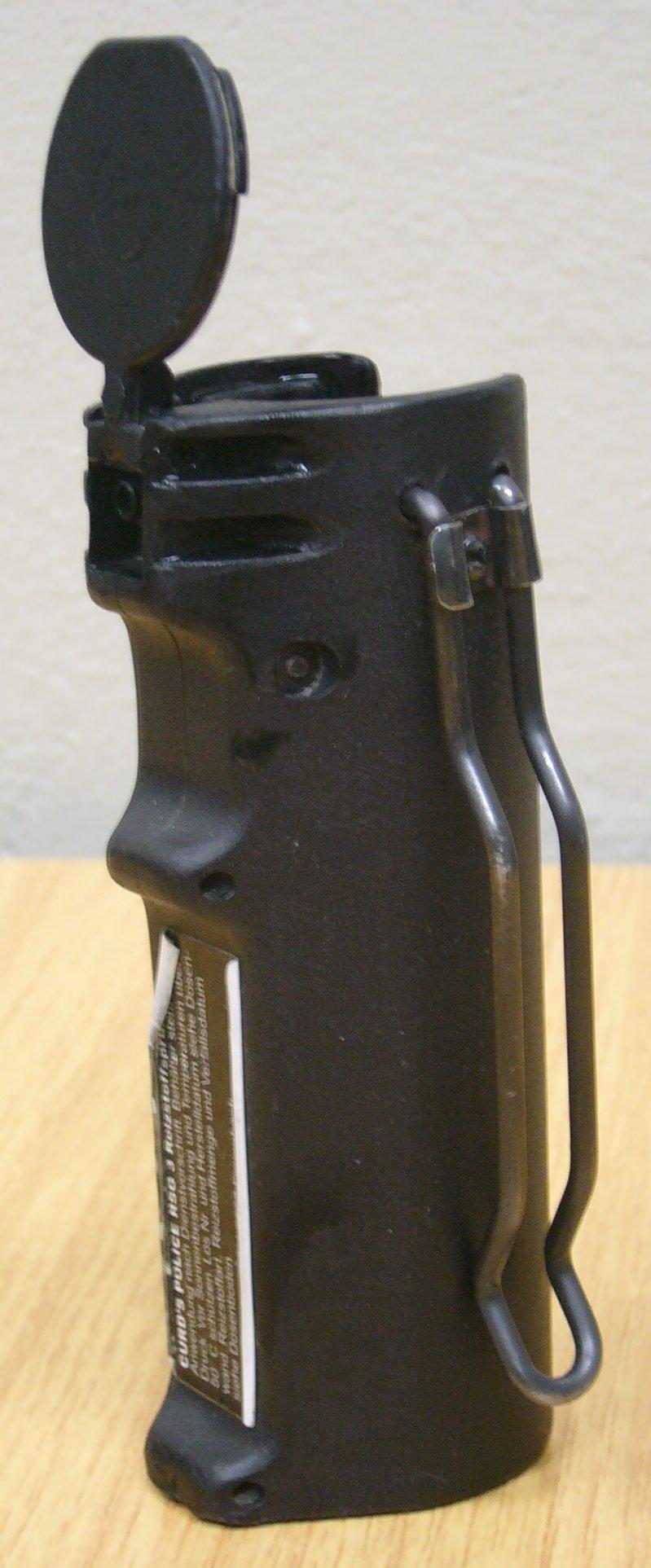 Der RSG 6 ist ein ca handgroßes schwarzes Gerät.