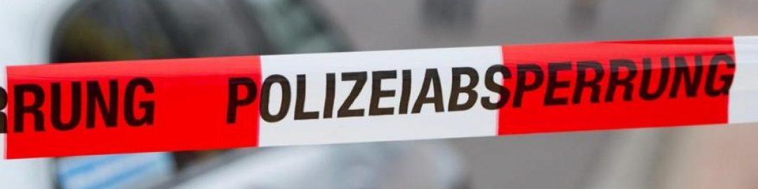 """Absperrband """"Polizeiabsperrung"""""""